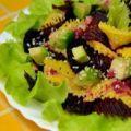 Свекольный салат с авокадо