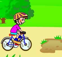 Онлайн игра для детей езда на