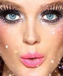 Ошибка макияжа «Блестки»