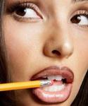 Ошибка макияжа «Яркий контур для губ»