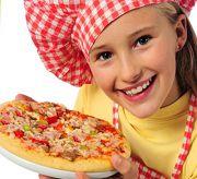 как приготовить пиццу дома для детей