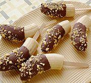 Десерт для детей «Шоколадные бананы»