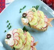 Детский сэндвич «Рыбка»