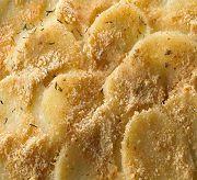 Запеченный картофель с сыром в панировочных сухарях