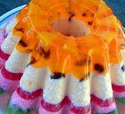Праздничный кекс-желе